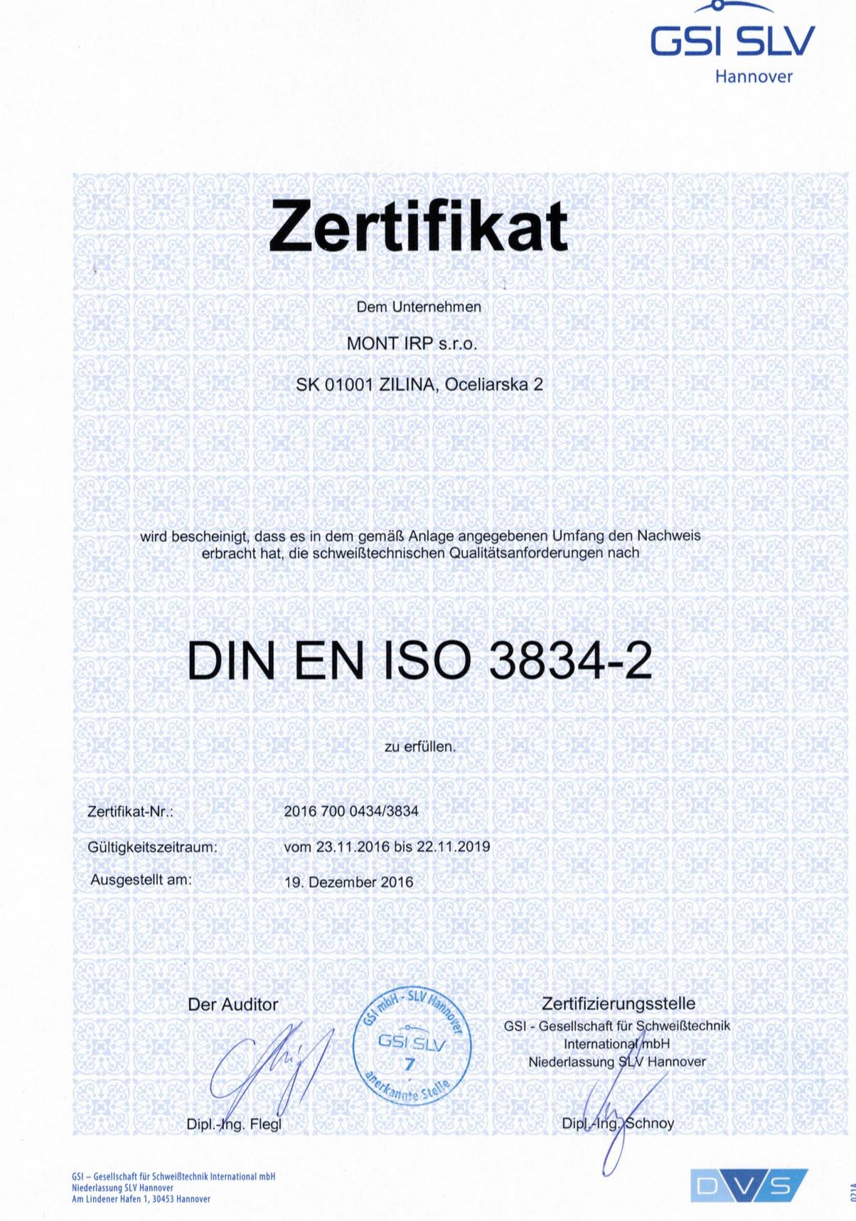 Certificate-DIN EN ISO 3834-2-cert.2016 700 0434-3834 - DE-do22.11.2019_Page_1